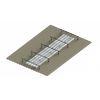 Raised Light Cover Base Kit with 2m Extention