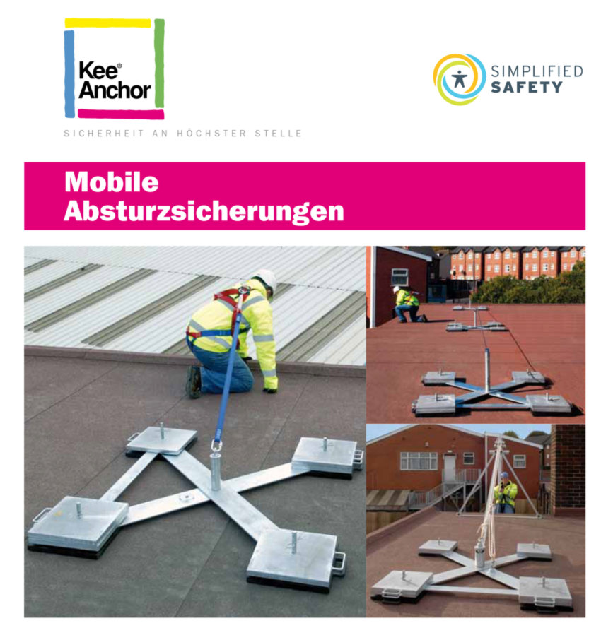 KEEANCHOR Mobile Absturzsicherungen - Katalog